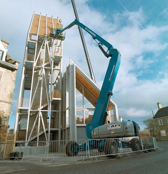AFI's Super-Set booms reach new heights in Bishop Auckland