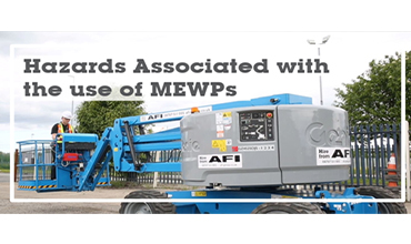 AFI Webinar HSEQ Hazards associated with the use of MEWPs