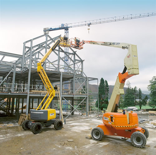 AFI Boom Lifts Help Contractors To  Complete Hotel Steelwork To Schedule