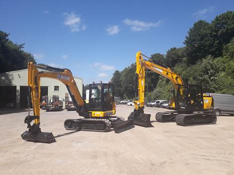 Hampshire Plant & Access makes further fleet investments in JCB
