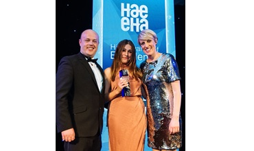 AFI Senior Hire Desk Controller Wins HAE Award