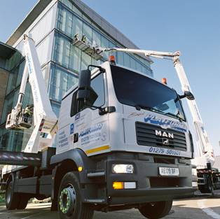 Rapid Platforms Help Glazing Specialist To Meet Tight Time Frame
