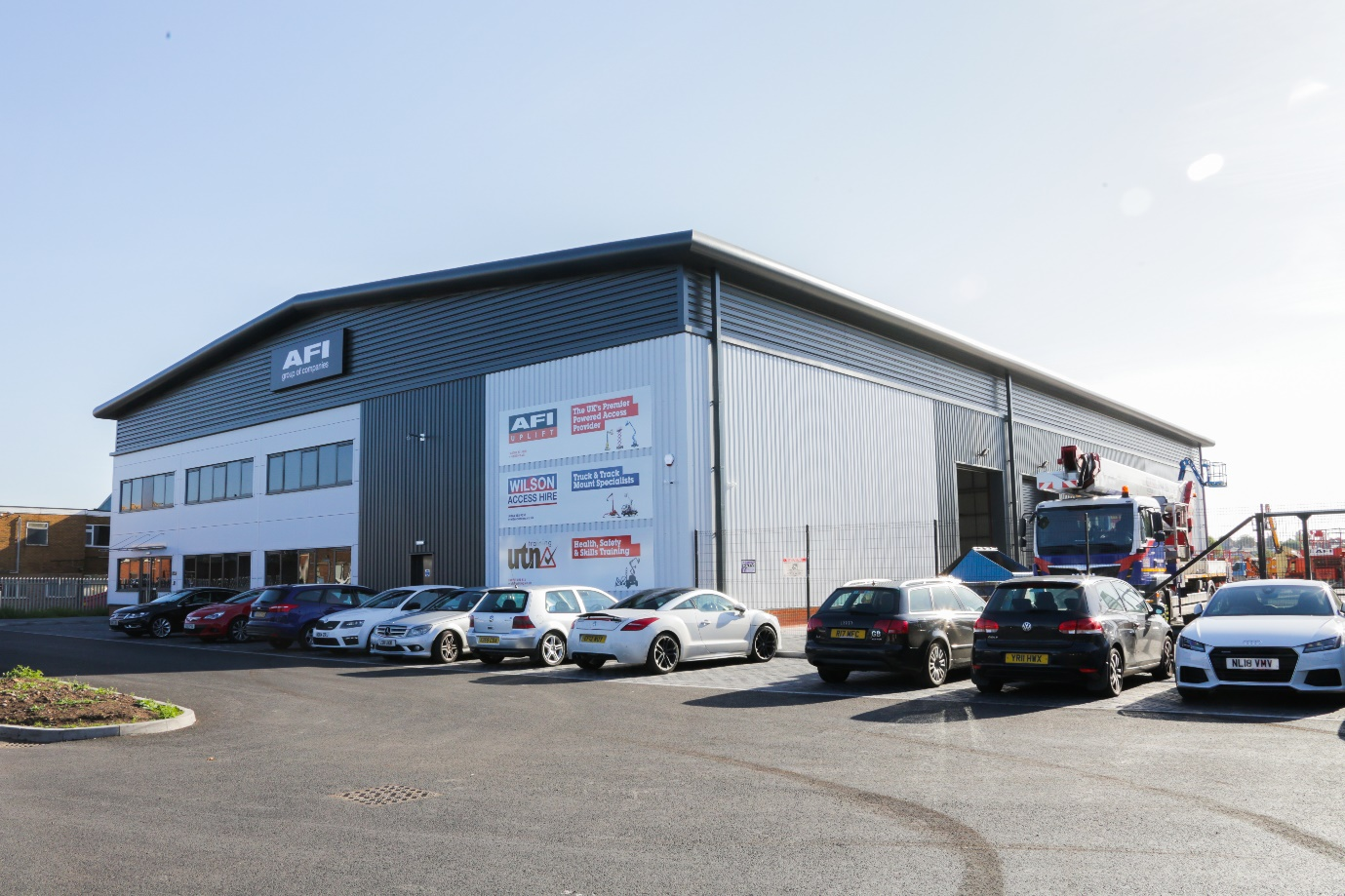Wilson Access increase Midlands coverage from purpose-built depot in Birmingham