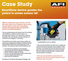 Case Study - SmartZone device guides the police to stolen scissor lift