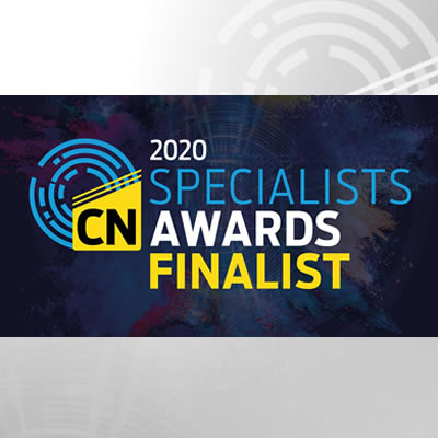 AFI is shortlisted for the Construction News Specialists Awards 2020