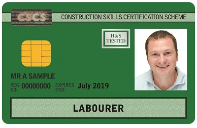 Important changes to the CSCS labourer's green card