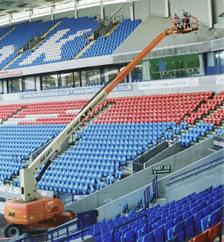 AFI Machines Help Contractors To Clean Reebok Stadium Cladding
