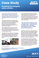 Case Study - Providing the complete safety solution